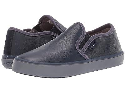 Geox Kids Jr Kilwi 33 (Little Kid) (Navy) Boys Shoes