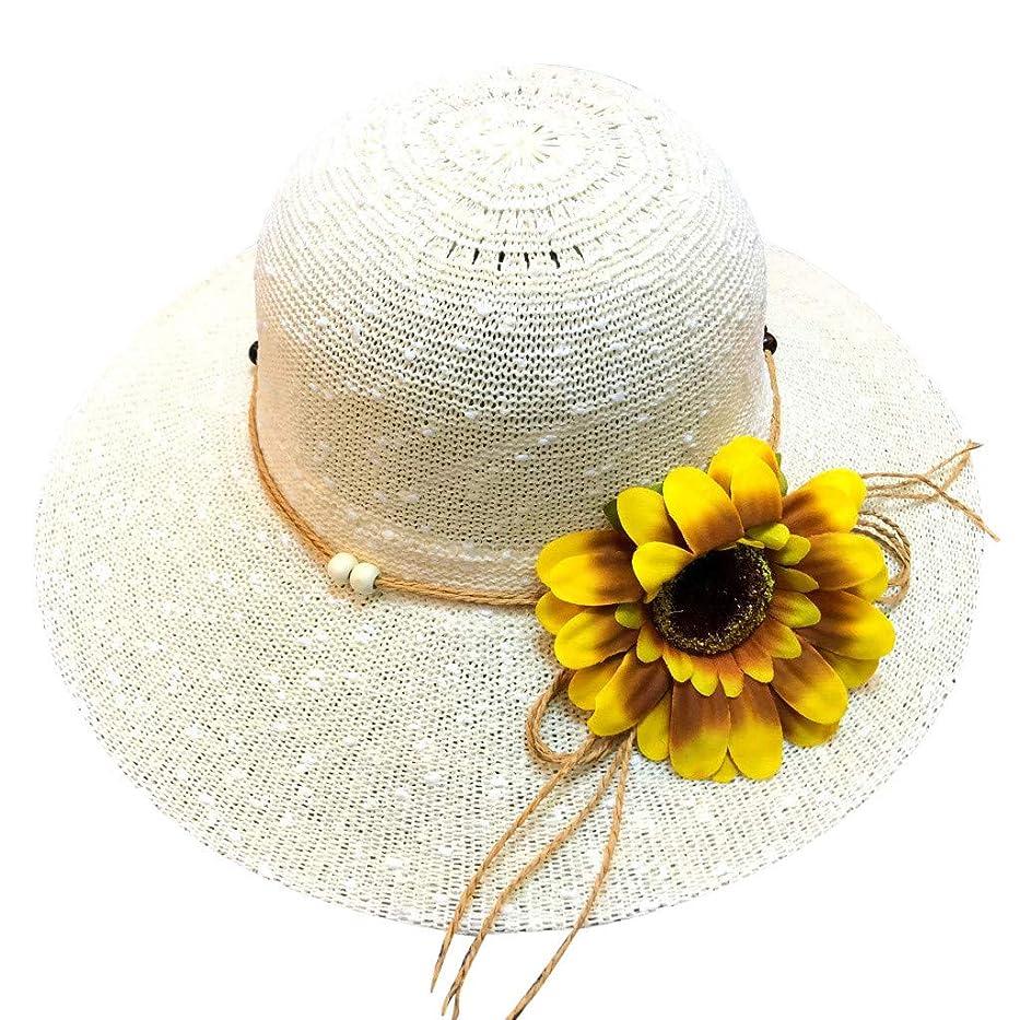 バンクコミットアナロジー帽子 レディース アウトドア 夏 春 UVカット 帽子 ハット 漁師帽 日焼け防止 つば広 紫外線対策 大きいサイズ ひまわり 可愛い ハット 旅行用 日よけ 夏季 ビーチ 無地 ハット レディース 女性 ROSE ROMAN