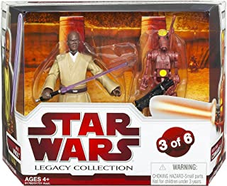 Star Wars Legacy Collection Geonosis Arena Showdown - Mace Windu and Battle Droid Commander