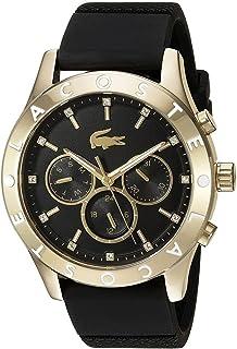 """Reloj Lacoste """"Charlotte""""  de acero inoxidable y de cuarzo, Casual, de mujer, color: negro (Modelo: 2000961)"""