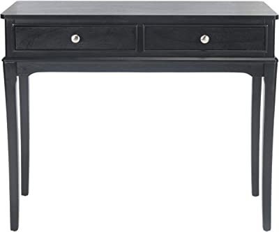 Safavieh Home Collection Opal Black 2-Drawer Console Table