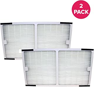 "Crucial Air Replacement Filter Compatible with Idylis C Filter Air Purifier Parts 1.4"" x 6.7"" x 11.8"" Pair with Hepa Style Filters Part IAP-10-200, IAP-10-280 (2 Pack)"