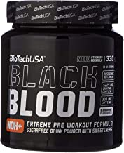 Biotech Pre Workout Booster Black Blood NOX 330 g Blood Orange Estimated Price : £ 20,58