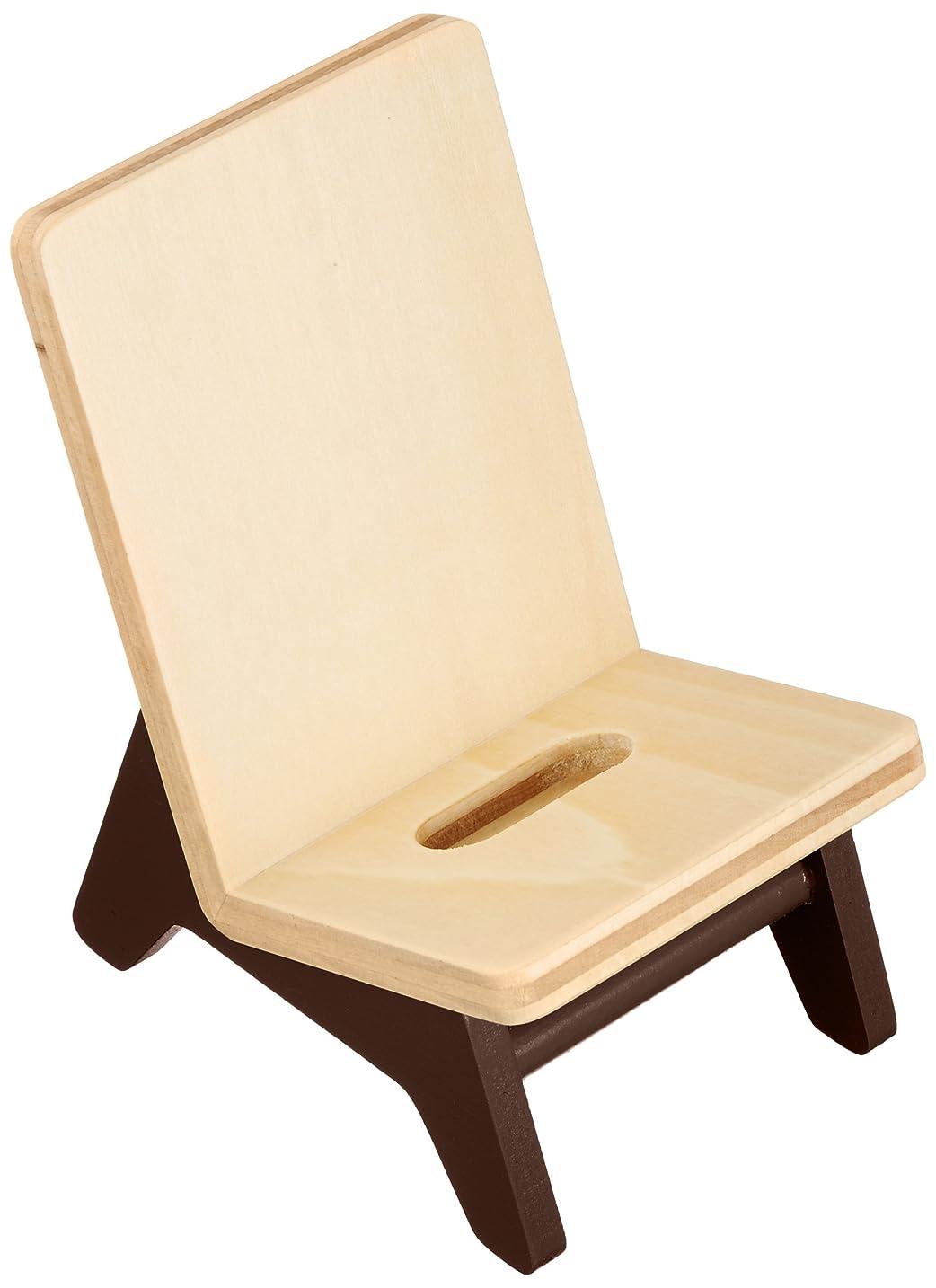 有能なメロドラマ医療過誤ヤマト工芸 携帯スタンド 「chair holder」 ブラウン YK11-106