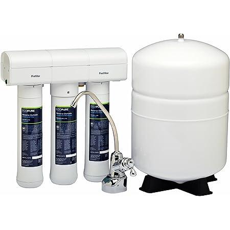 ECOPURE RO Osmoseur d'Eau-Système d'osmose Inverse (ECOP30) Filtration Potable, Blanc