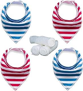 mustachifier bandana bibs
