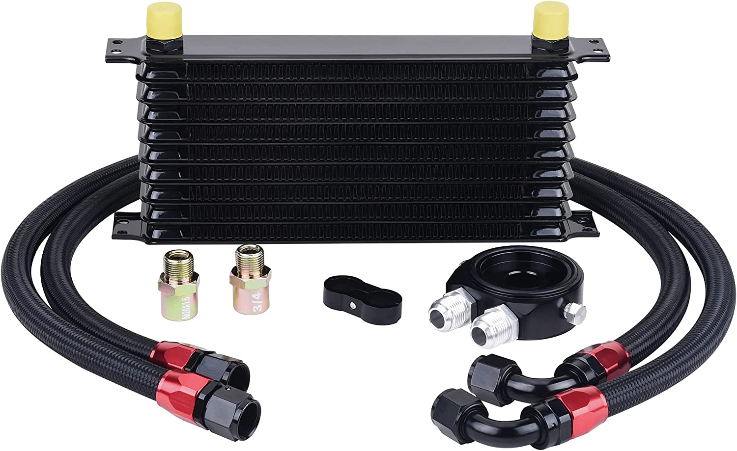 EVIL ENERGY Sale Special Price 10 Row AN10-10AN Oil Cooler Tra Kit Universal Engine Cheap SALE Start