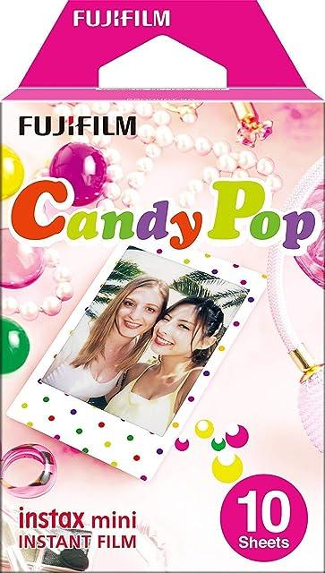 Fujifilm Instax mini Candy Pop - Película instantánea