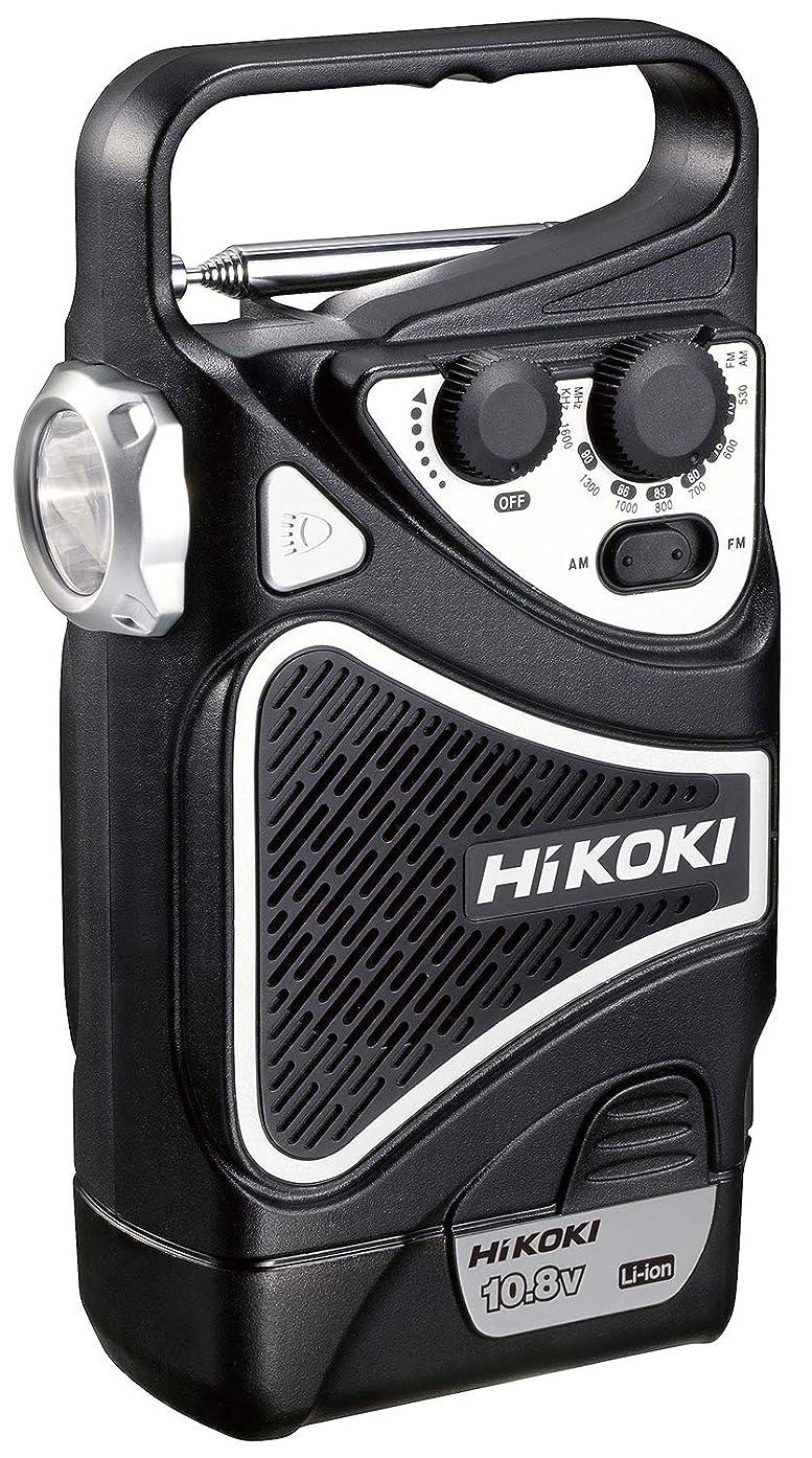 グリルうつ責HiKOKI(旧日立工機) 10.8V コードレスラジオ 充電式 LED搭載 AM/FM対応 蓄電池?充電器別売り FUR10DL(NN) 本体のみ