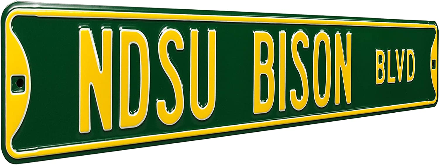 Authentic Street Signs 70193 New item Max 41% OFF North Dakota Ave – NDSU He State -