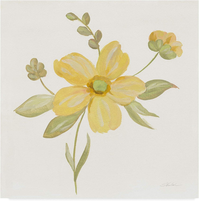 Trademark Fine Art June Bloom II by Silvia Vassileva, 14x14