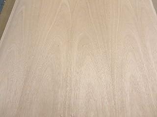 "Mahogany wood veneer 24"" x 48"" with 3M peel stick adhesive PSA 1/40"" thickness"