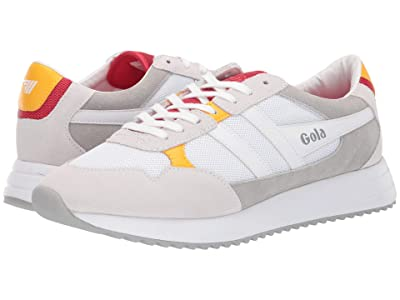 Gola Toronto (White/Red/Sun) Men
