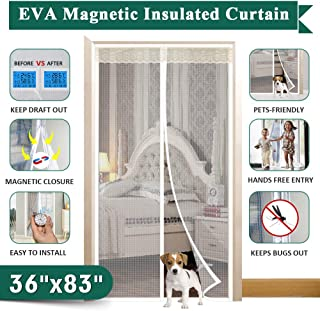 Magnetic Doorway Curtain Fit Doors Up to 34