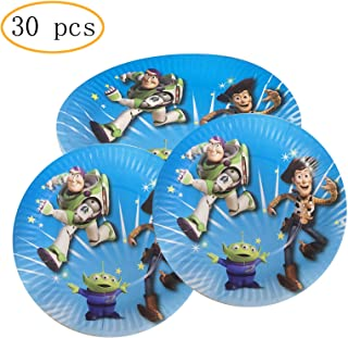 Party Nice Toy Story Party Supply Pack - Toy Story 7 inch Party Plate 30 pcs