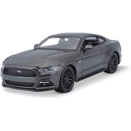 Ford Mustang Gt Matt Schwarz 2015 Modellauto Fertigmodell Welly 1 24 Spielzeug