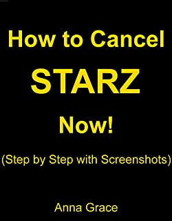 How to Cancel STARZ Subscription: Cancel STARZ Subscription or Free Trial Now! (Step by Step with Screenshots)