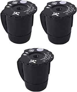 K300 Reusable Ground Coffee Filter Compatible with Keurig My K Cup 2.0 1.0 K250 K350 K375 K400 K450 K475 Upgrade Ground Coffee Filter Refillable (Pack of 3)