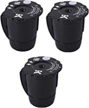 K300 Reusable Ground Coffee Filter Compatible with Keurig My K Cup 2.0 1.0 K250 K350 K375..