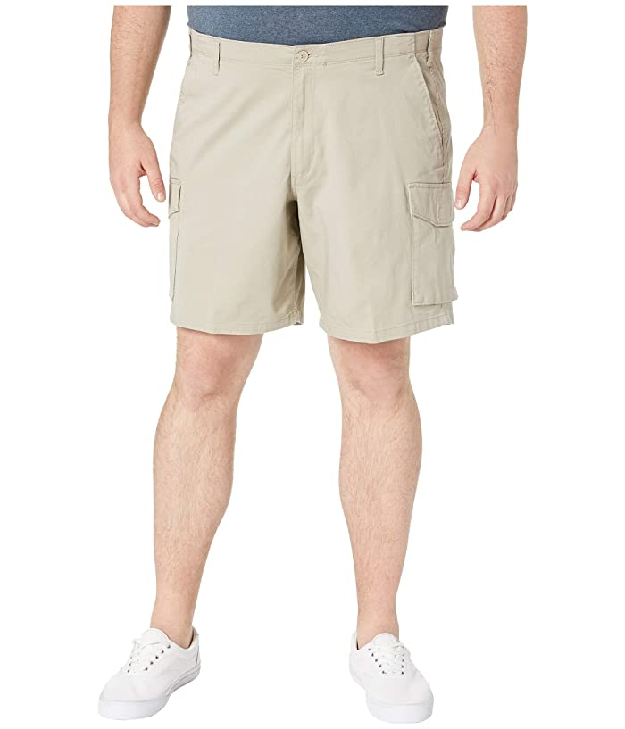Dockers Big Tall Cargo Shorts (Safari Beige) Men