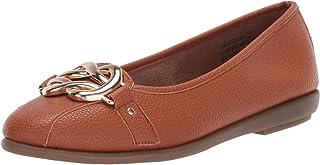 Women's Better Luck Ballet Flat - Casual Comfort Slip-on Shoe with Memory Foam Footbed