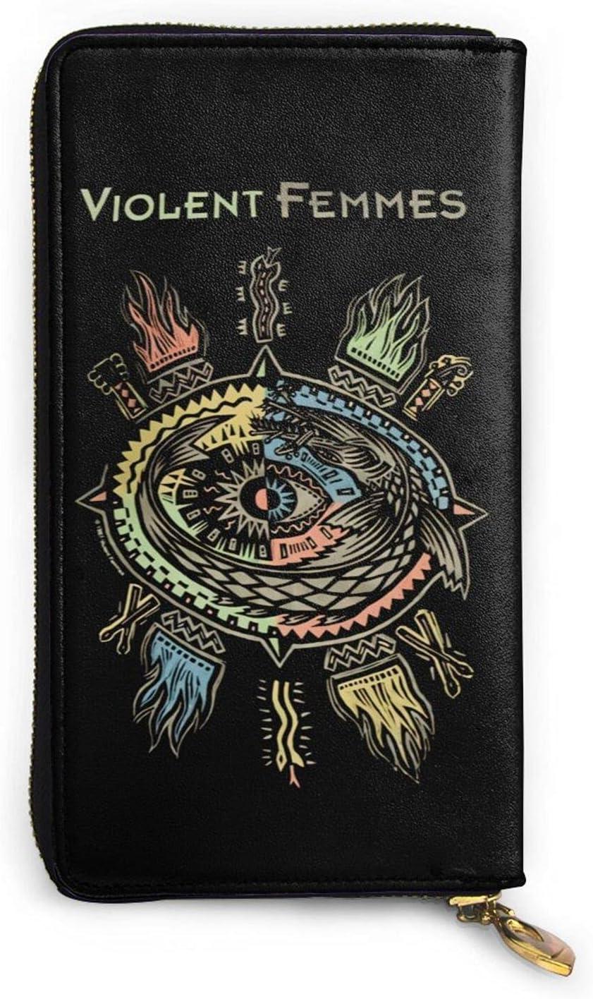 Violent Femmes Leather Wallet Max 83% OFF Credit Card Bag For Phone M El Paso Mall Holder