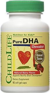CHILDLIFE 童年时光 Pure DHA膳食补充剂 90粒软胶囊 2瓶