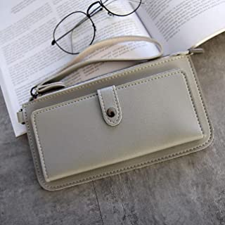 GaitserBY Elegant Wallet Female Functional Zipper Wallet Purse Pu Leather Zipper Clutch Card Holder Coin Purses Phone Bag