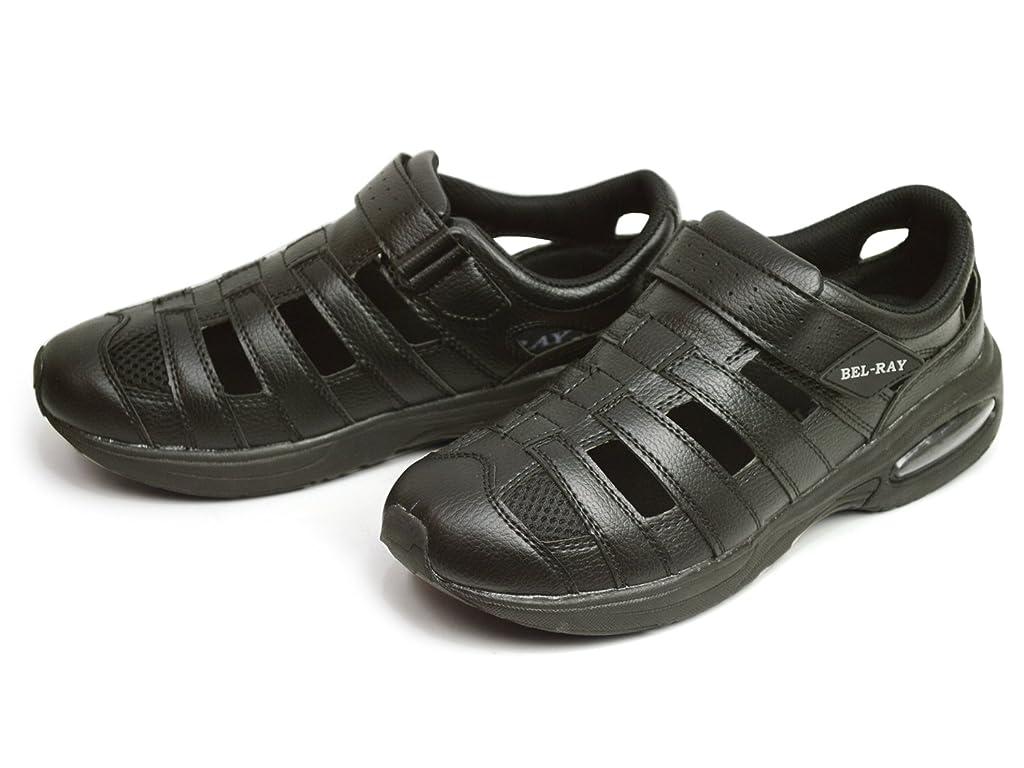分割寛容な動脈[ベルレイ] サンダル メンズ スポーツサンダル アウトドア スリッポン 3EEE 幅広 クロッグ スニーカー メッシュ 通気性 カジュアル シューズ アクア 軽量 靴