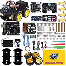 ELEGOO UNO R3 Project Smart Robot Car Kit V 3.0 Plus with UNO R3, Line Tracking Module,..