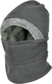 Winter Warm Balaclavas Hat Neck Warmer Scarf Face Cover Skiing Cap for Men Women