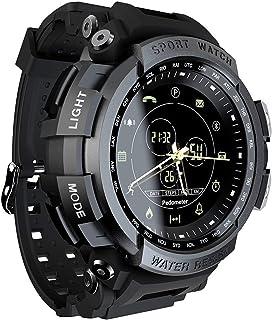 Sutinna Inteligente Reloj del Deporte, 5atm Impermeable Recordatorio Llamada Bluetooth Hombres Digital de Cuenta atrás del...