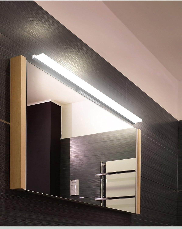 HOHE SHOP- Minimalist modernen Badezimmerspiegel Licht Wassernebel führte Make-up-Spiegel-Beleuchtung ( Farbe   Warm-40 cm )