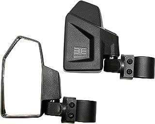 Bevel Engineering Rear View Side Mirror Kit for UTV (2 Pack) Fits 1.6