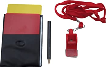 Fitness Minutes Football Referee Accessories Set, 812_4, red