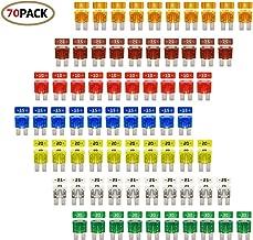 Micro2 ATR Automotive Fuses Assorted 70pc 5, 7.5, 10,15, 20,25 & 30 amp Set Pack