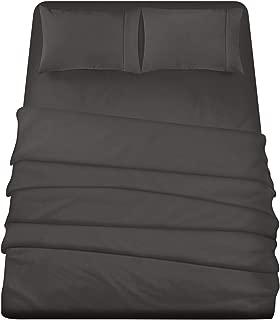 Utopia Bedding 4-Piece Queen Bed Sheets Set (Dark Grey)