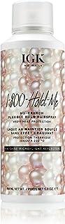 IGK 1-800-HOLD-ME No Crunch Flexible Hairspray, 5 Oz