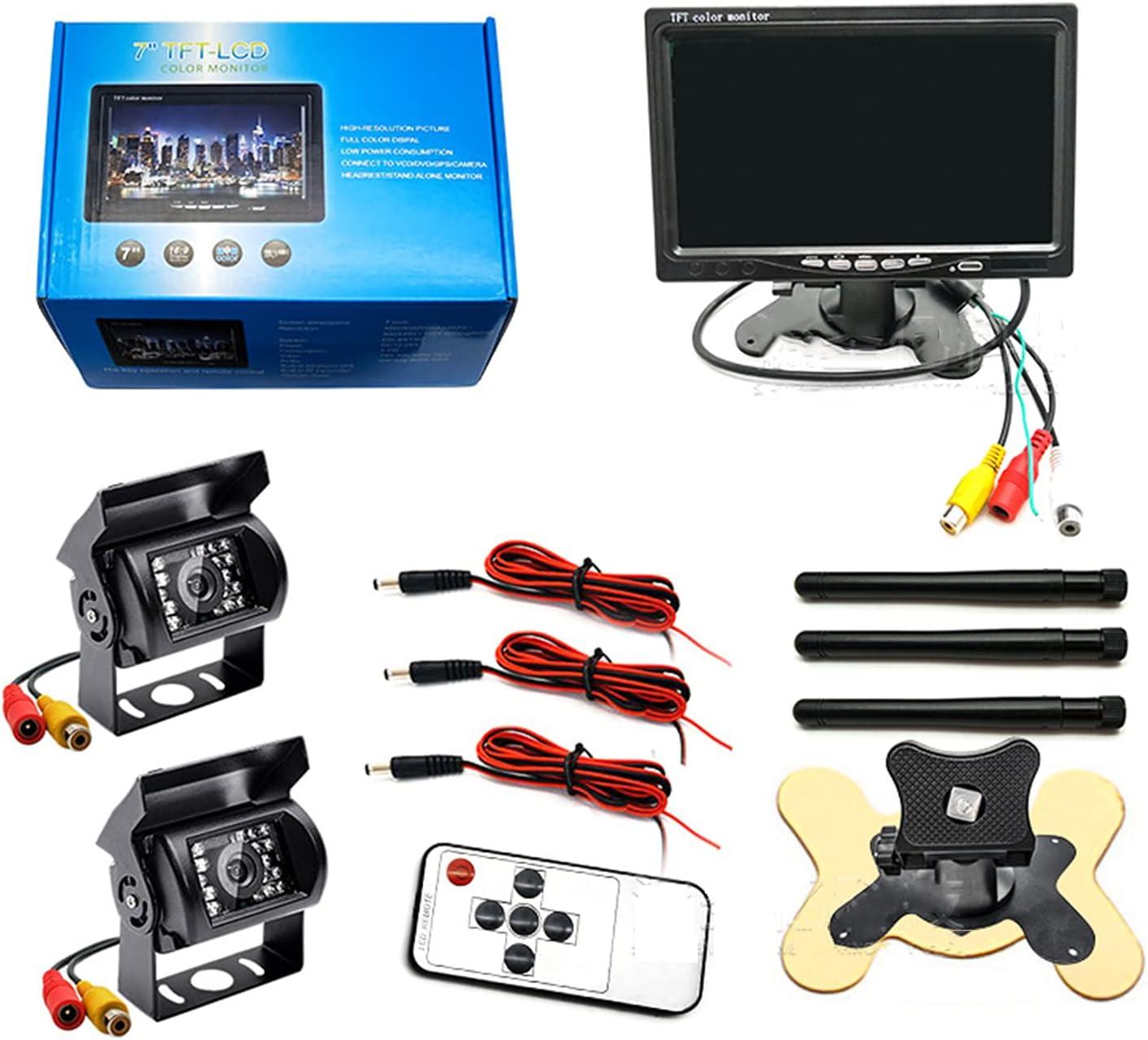 Liawnwooo Wireless Backup Camera2 Limited price sale Baltimore Mall with Monitor HD Waterproof 7