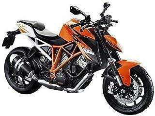 نموذج دراجة نارية برتقالي سوبر دوك آر 1:12 KTM 1290 القابلة للتجميع