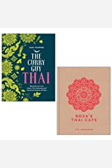 The Curry Guy Thai By Dan Toombs & Rosa's Thai Cafe The Cookbook By Saiphin Moore 2 Books Collection Set Hardcover