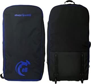 Bodyboard Travel Bag Rolling Coffin | International Luggage | with Wheels and 5 MM Padding