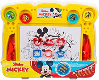 Sambro Mickey Roadster Dough Activity Desk Set, For 3 Years and Above, Multi-Colour, Dsm4-4155