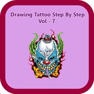 Drawing Tattoo Step By Step Vol - 7
