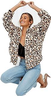 معطف للنساء شتوي دافئ مطبوع معطف سميك معطف باركا ملابس خارجية