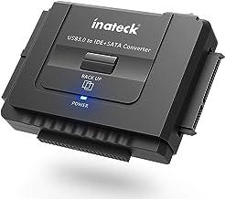Inateck IDE/SATA zu USB 3.0 Combo Docking station Universalkonverter mit Netzschalter -2,5'' und 3,5''SATA HDD & IDE HDD-Laufwerke Konverter/ Adapter, auch unterstützt CD/DVD Laufwerke; Kompatible Windows XP/Vista/7/8/10; Mac OS 10.X