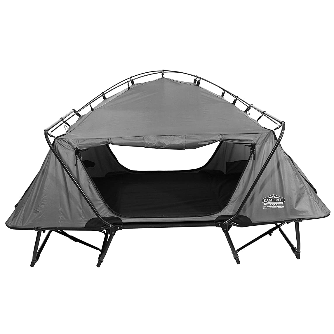 Kamp-Rite 2 Person Folding Off The Ground Camping Sleeping Bed Double Tent Cot