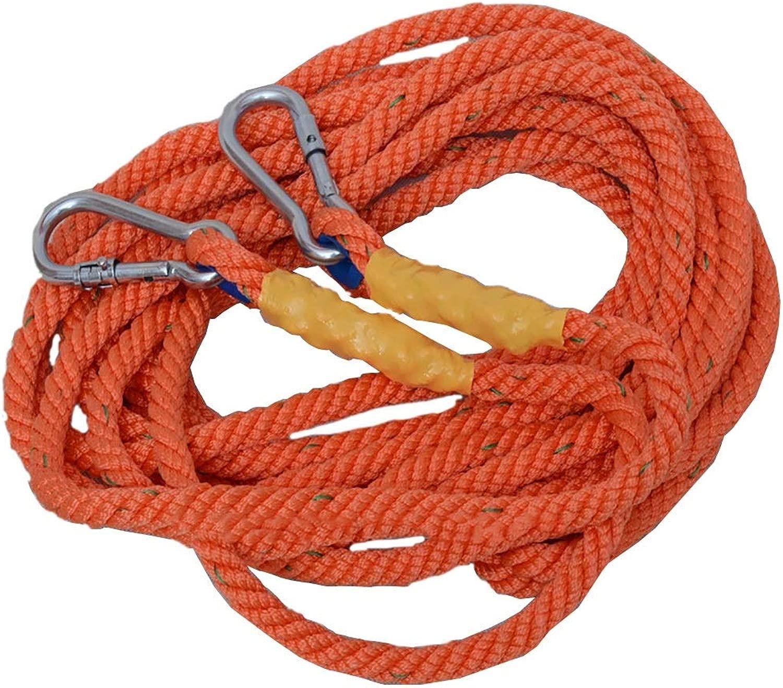 KTYXDE ロングロープスリングロープ空中作業ロープ延長ロープ脱出ライフライン径16mm クライミングロープ (Size : 30m)