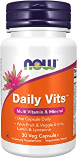 Now Foods Daily Multi-Vitamin, 30 Veg Capsules