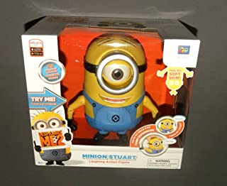 despicable me 2 talking action figure stuart
